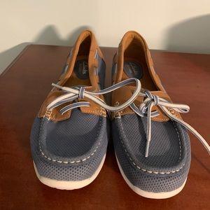 Clarks step glow lite shoes